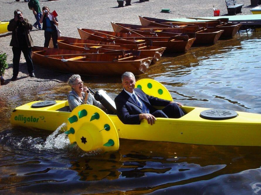 Paraboot Alligator – Boot fahren auf dem Schluchsee
